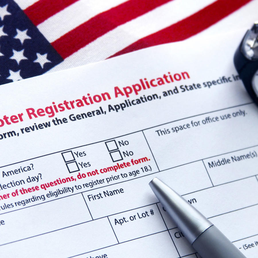 Formulario de Aplicación para Votar