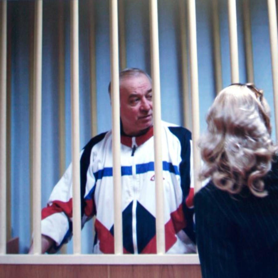 Una captura de una fotografía de Sergei Skripal de 2006 publicada por la BBC.