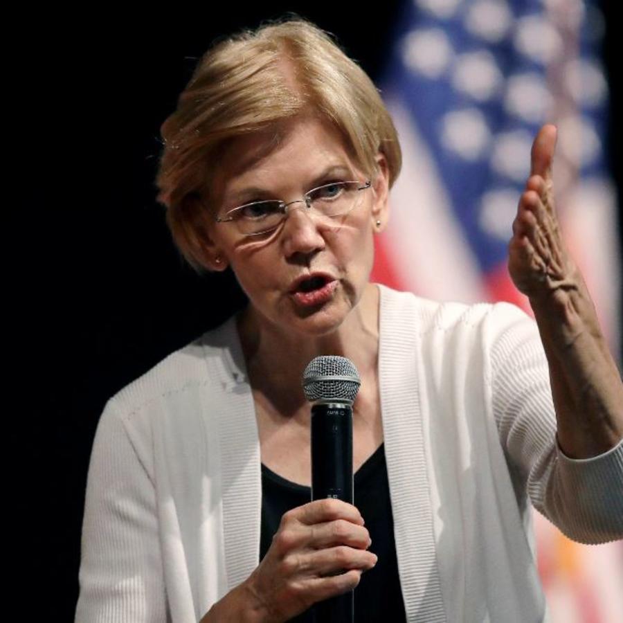 La senadora demócrata de Massachusetts, Elizabeth Warren, en una imagen de archivo.