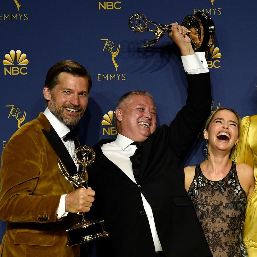 """Reparto de """"Game of Thrones"""" en los Emmys 2018"""