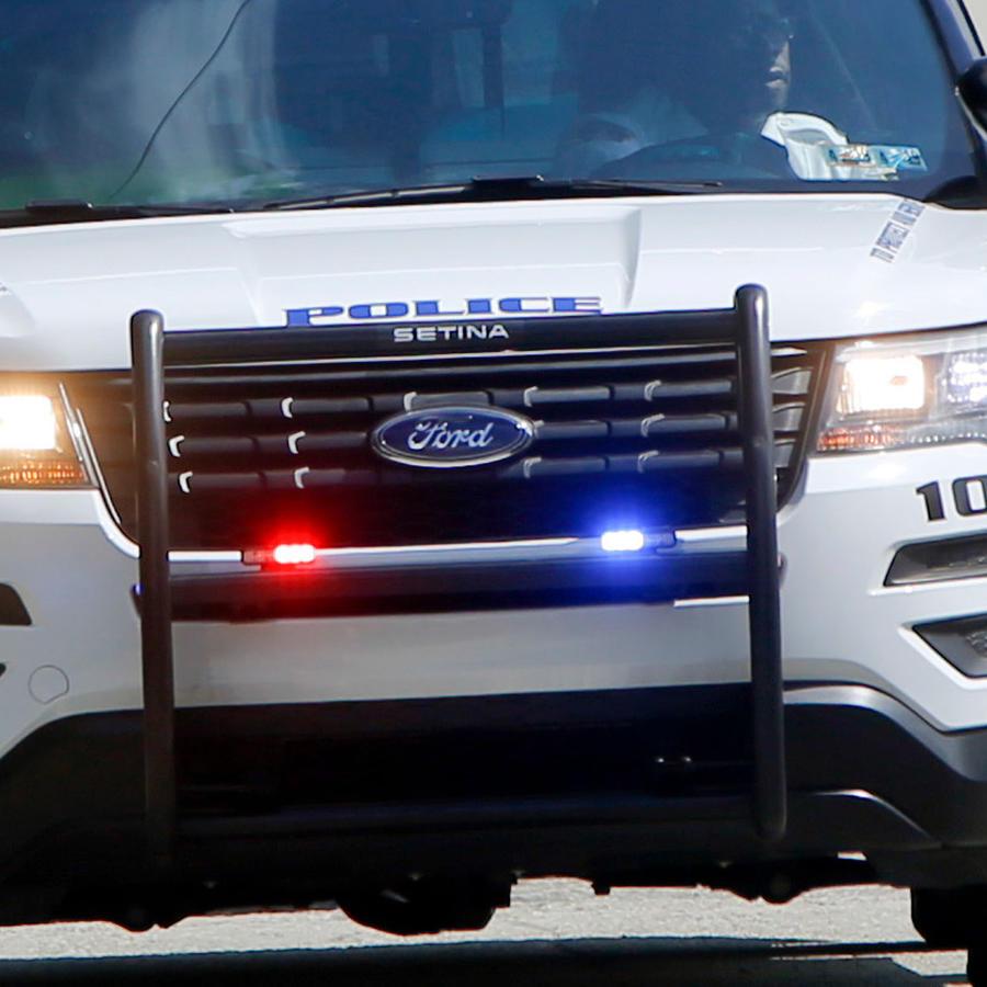Vehículo de la Policía de Pittsburg, Pensilvania