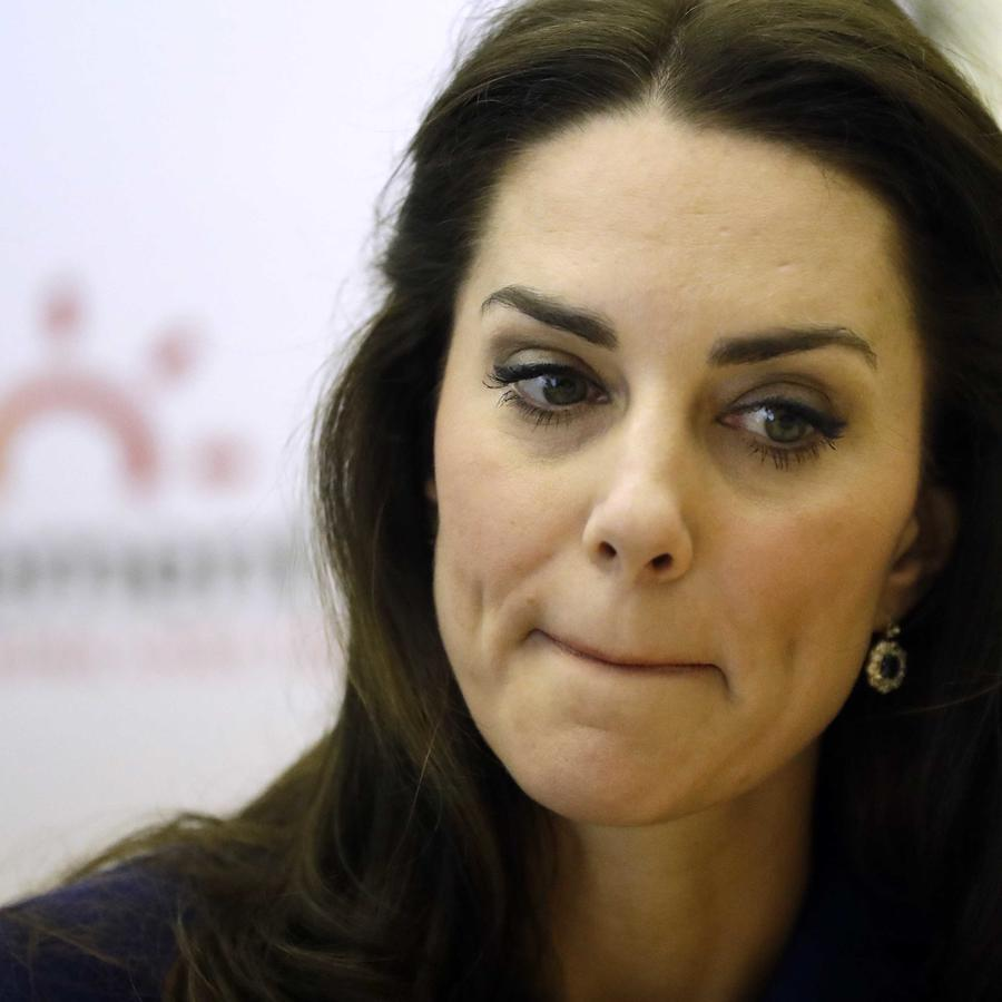 La duquesa de Cambridge.