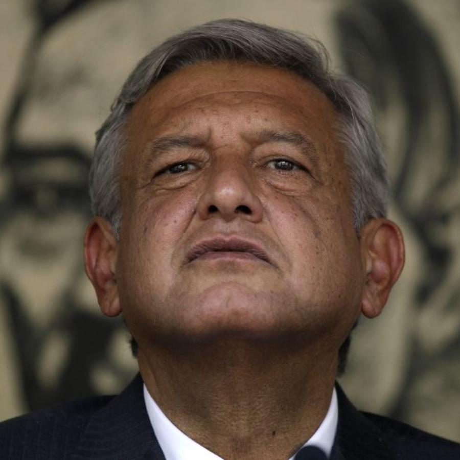 Andrés Manuel López Obrador en una foto de archivo.