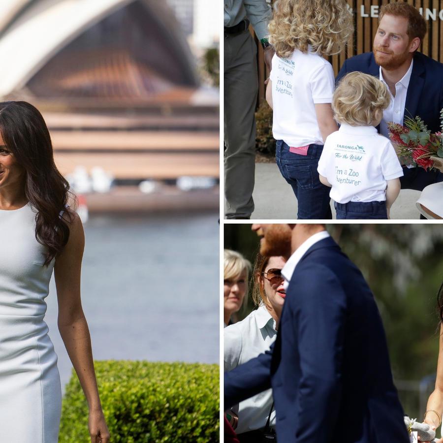 El anuncio se realizó a unas horas de que la pareja real llegara a Sydney (Australia) como parte de su primera gira internacional juntos.