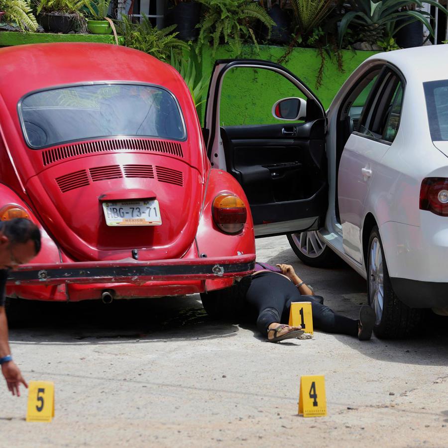 Autoridades investigan la muerte de una mujer en México en una imagen de archivo
