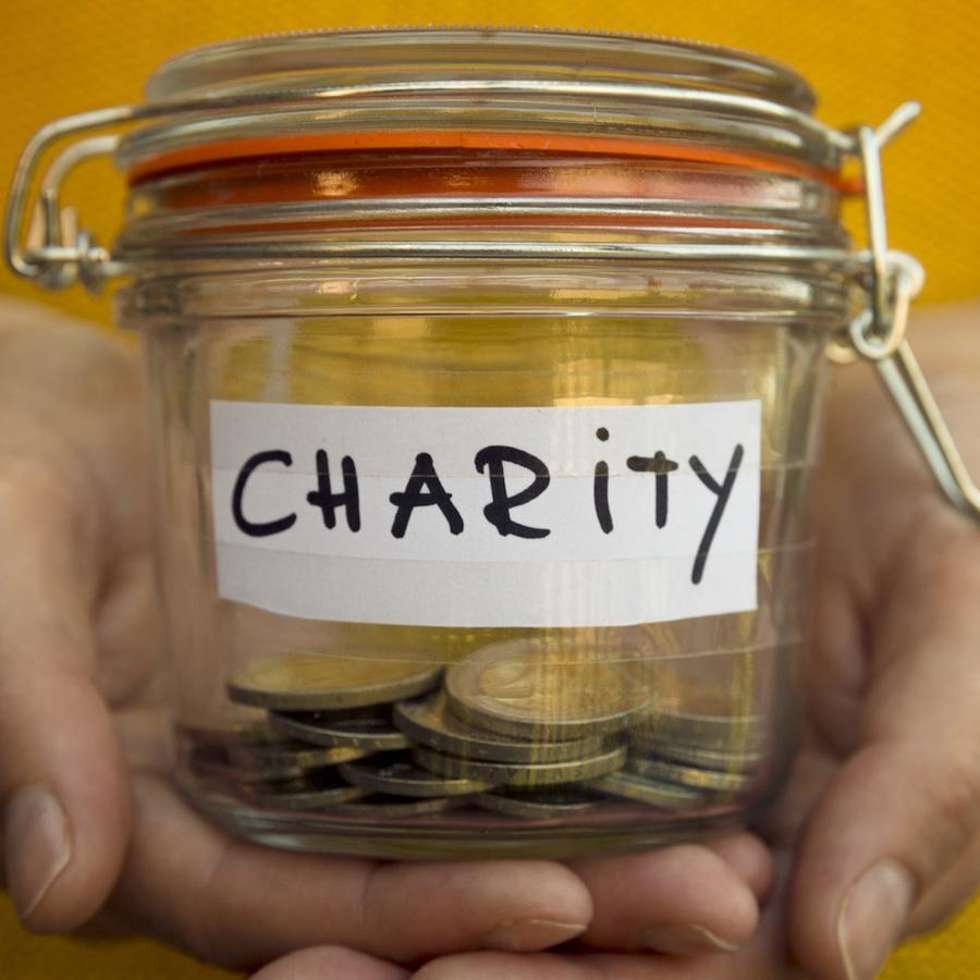 Dinero para caridad