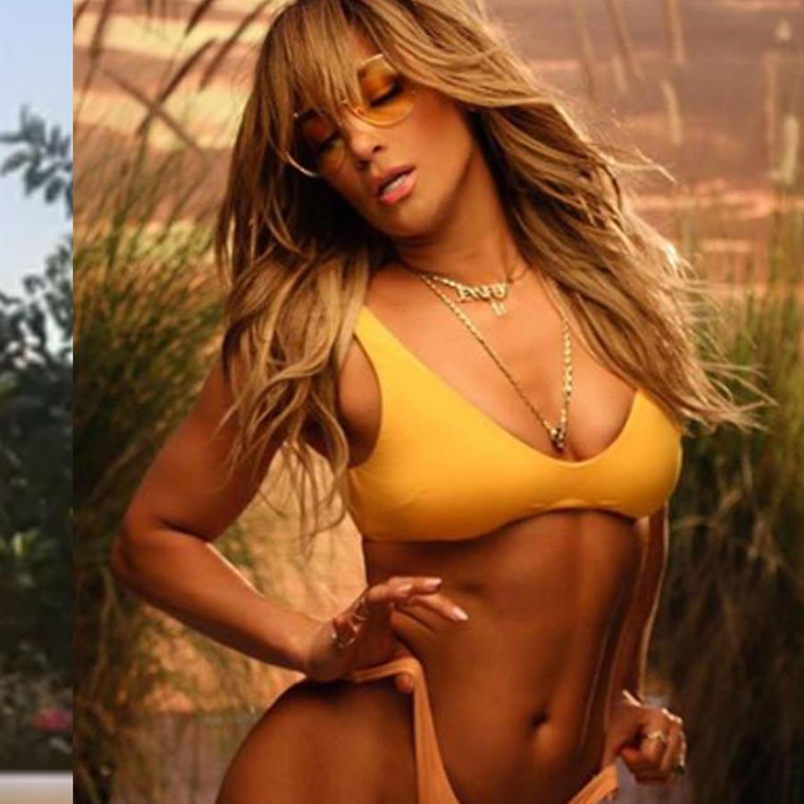 Carmen Villalobos y Jennifer Lopez