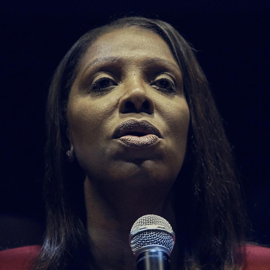 Letitia James, fiscal electa del estado de Nueva York
