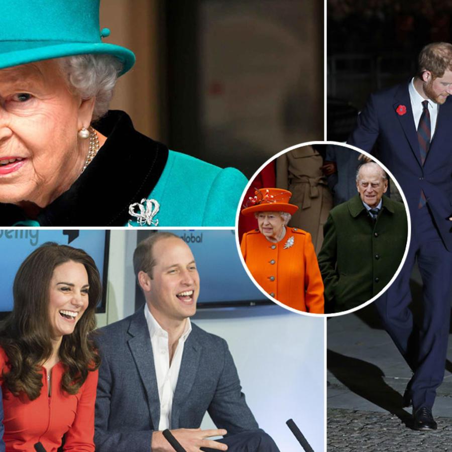familia real reino unido