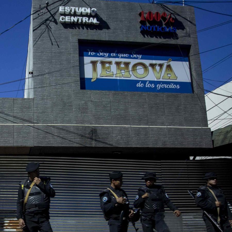 Canal de noticias de Nicaragua 100% Noticias, crítico con el gobierno de Daniel Ortega, amaneció clausurado hoy