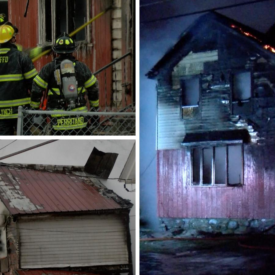 Fuego en Herkimer, Nueva York