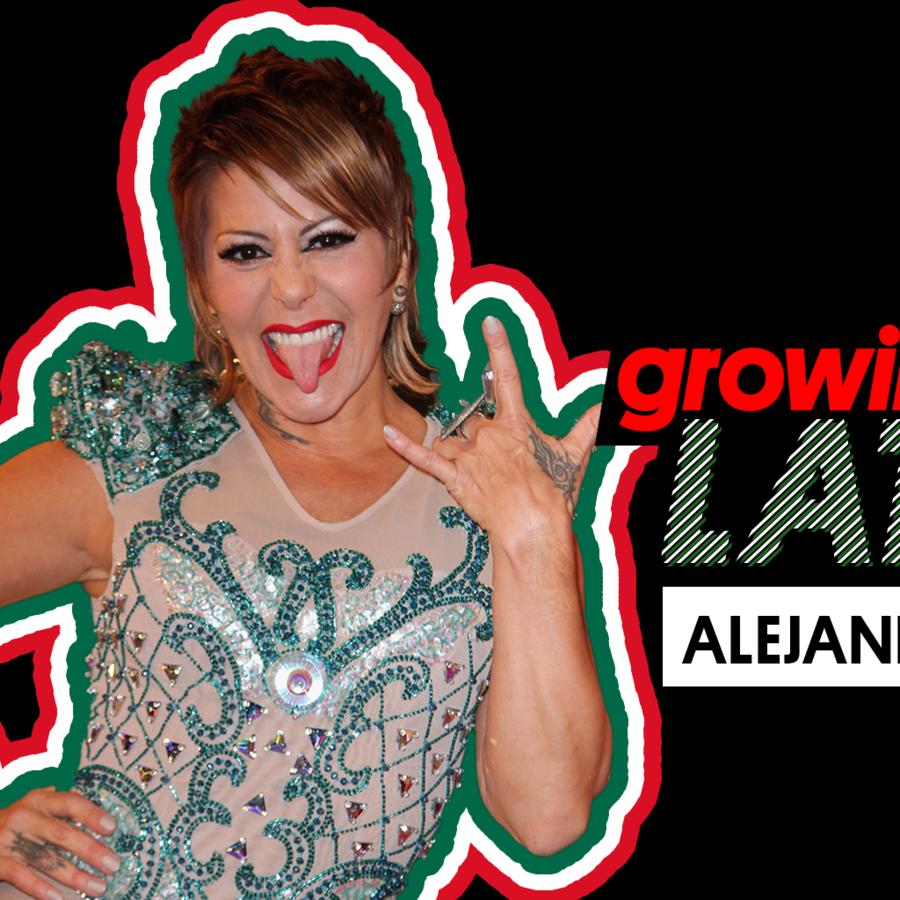 """Alejandra Guzman en """"Growing Up Latino"""""""