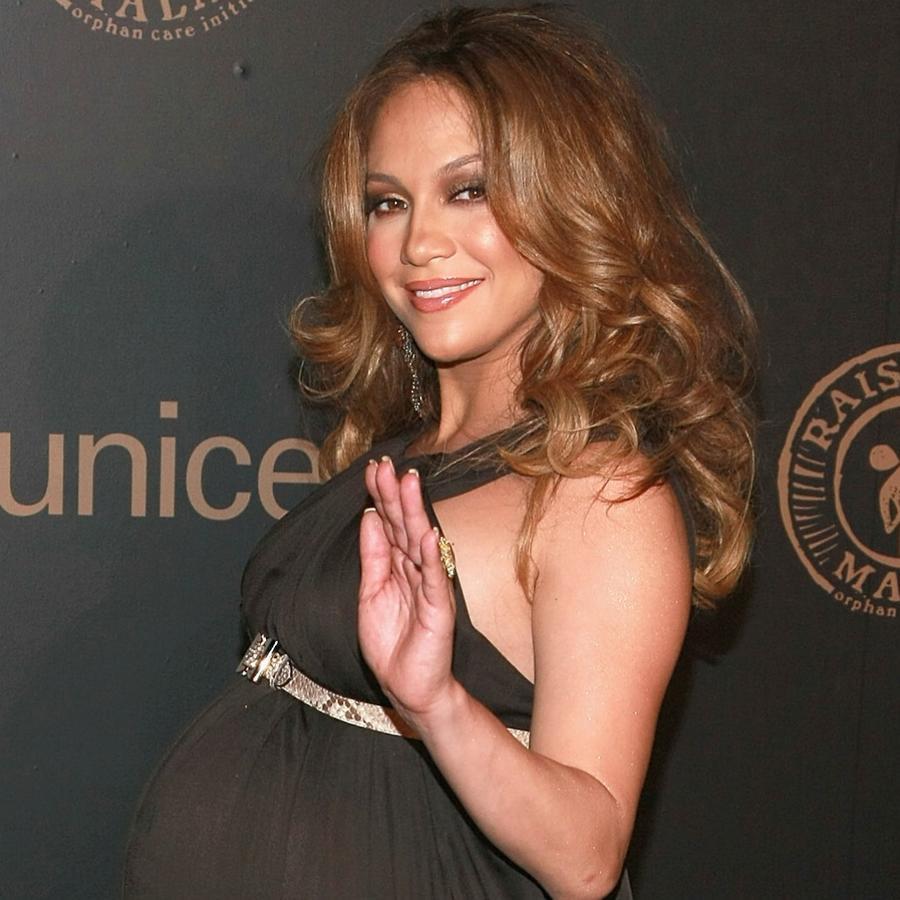 Jennifer Lopez at a UNICEF event
