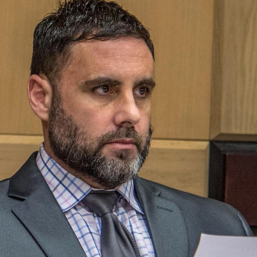Pablo Ibar durante su juicio en Fort Lauderdale