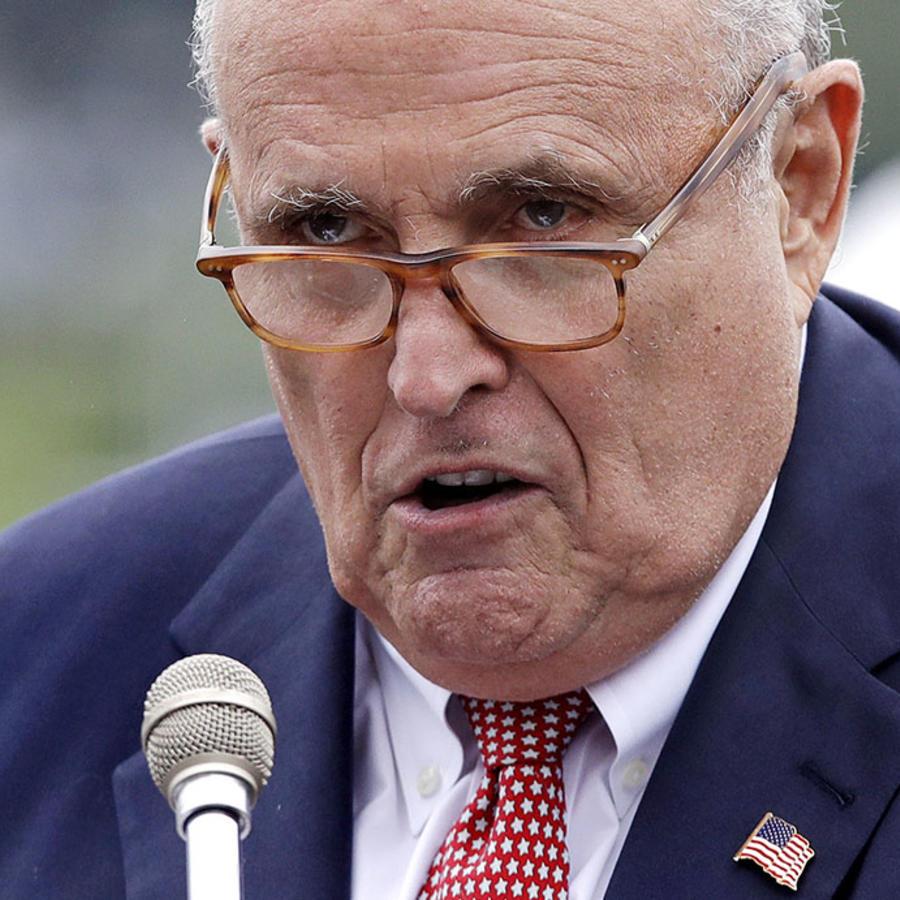 Rudy Giuliani, actual abogado del presidente Donald Trump.