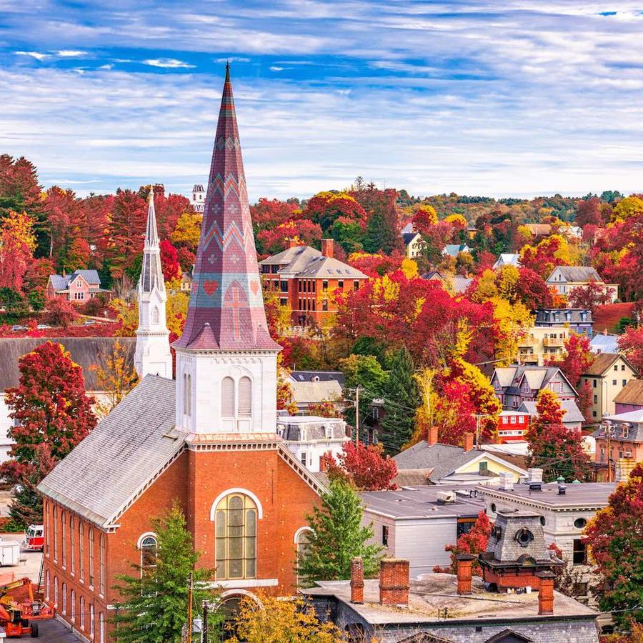 Vista de Vermont