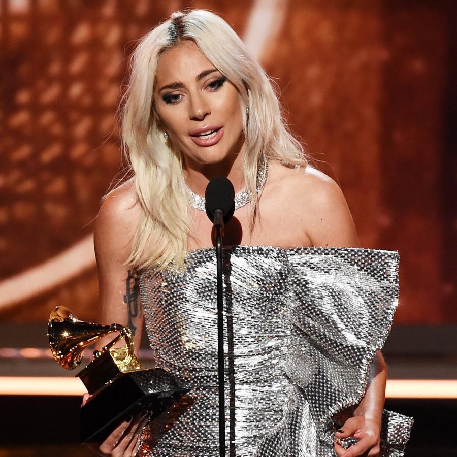 Lady Gaga wins at the 2019 Grammys.