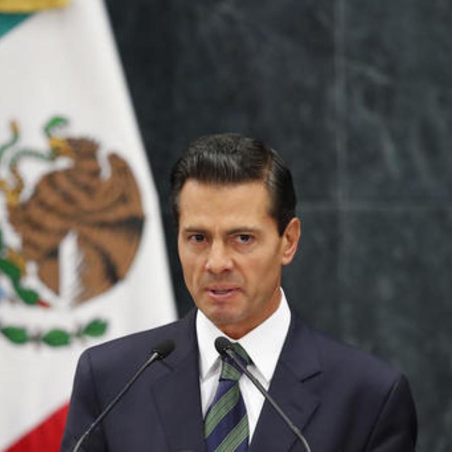 Enrique Peña Nieto, expresidente de México.