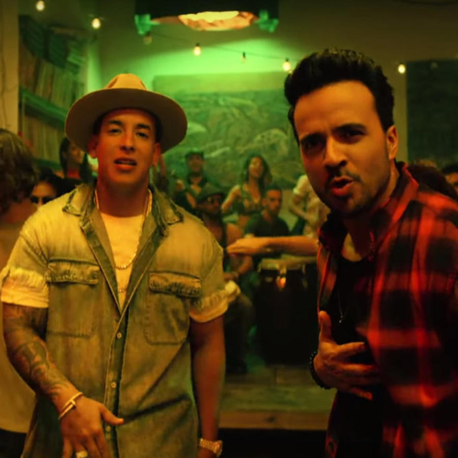 "Luis Fonsi and Daddy Yankee in ""Despacito"" video"
