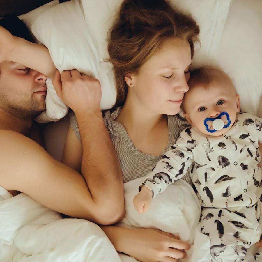 Papás dormidos