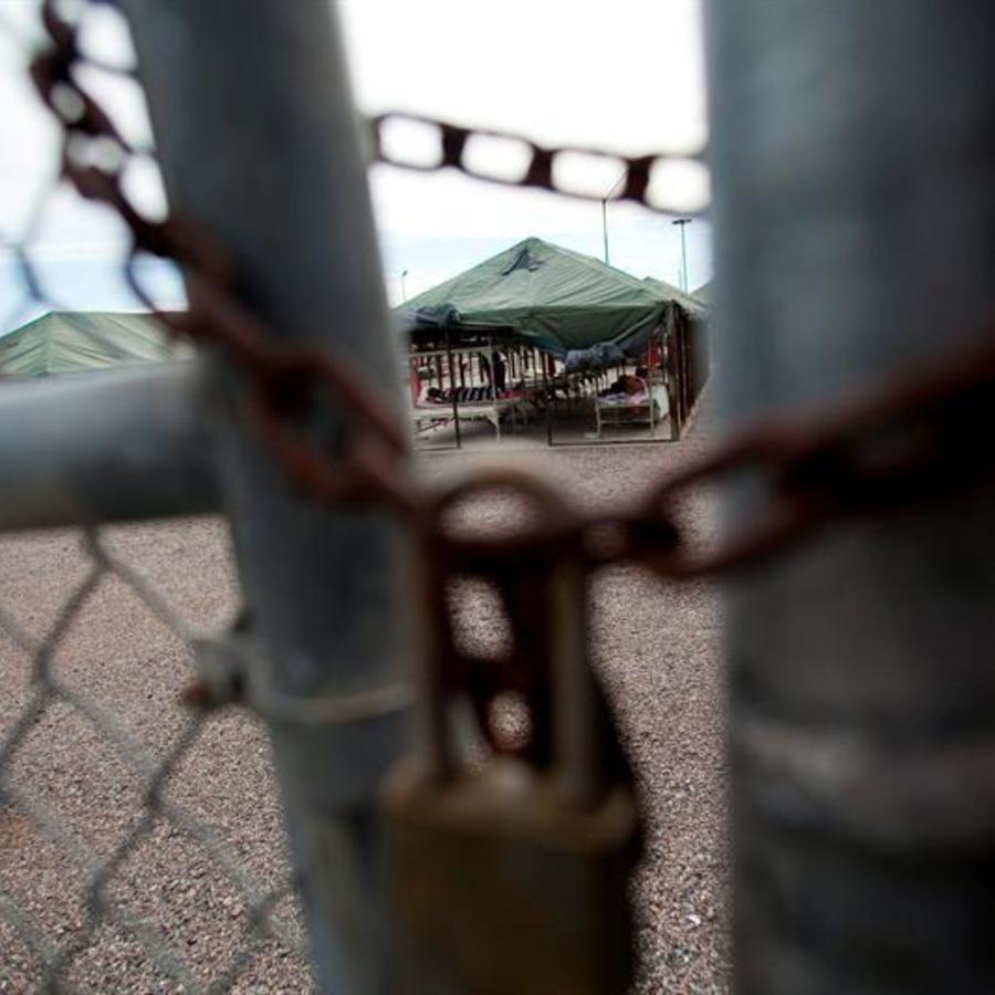 Centro de detencion de inmigrantes indocumentados