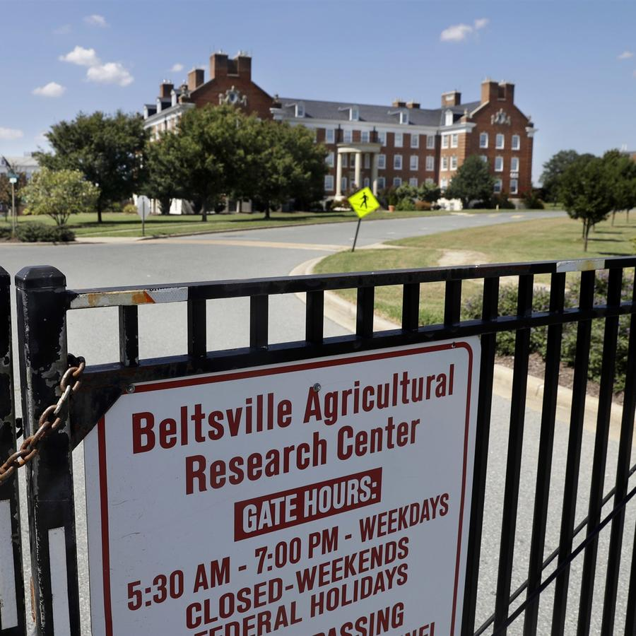 El Centro de Investigación Agrícola de Beltsville, el centro de investigación agrícola y la biblioteca del Departamento de Agricultura en Beltsville, Maryland, el 30 de agosto de 2016. Jacquelyn Martin / archivo AP