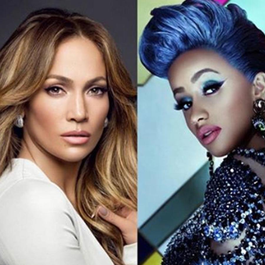 Cardi B y Jennifer Lopez