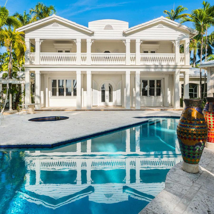 La mansión de Emilio y Gloria Estefan
