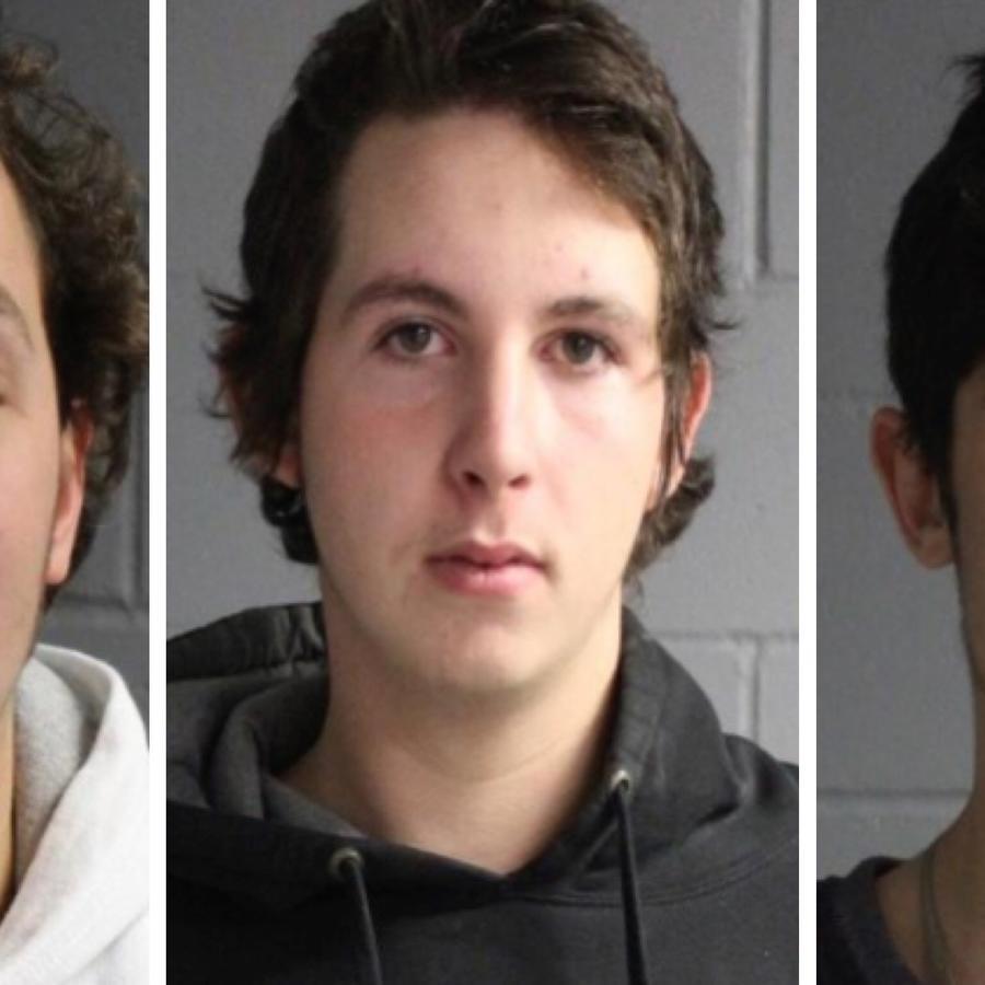 Israel Rivera, Brandon Lemieux y Paul Dustin