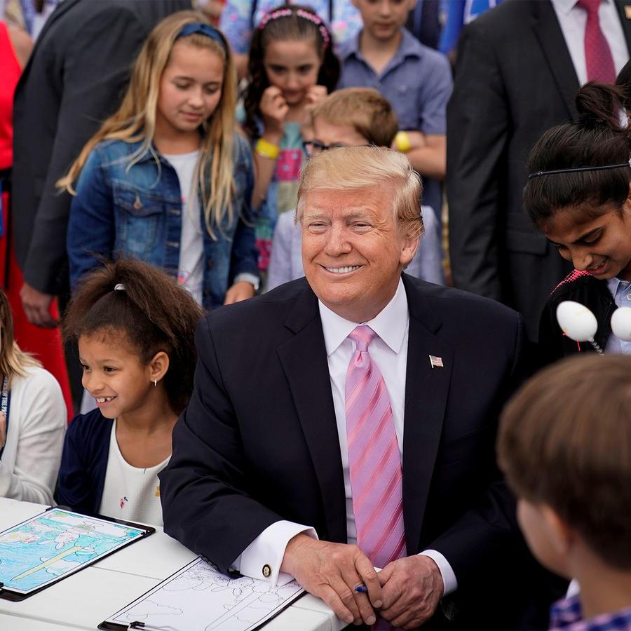 Trump en Pascuas