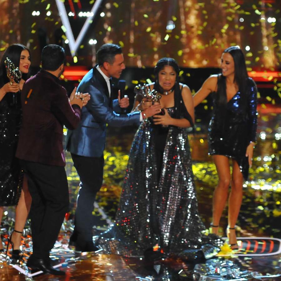 Jeidimar Rijos es la ganadora de La Voz