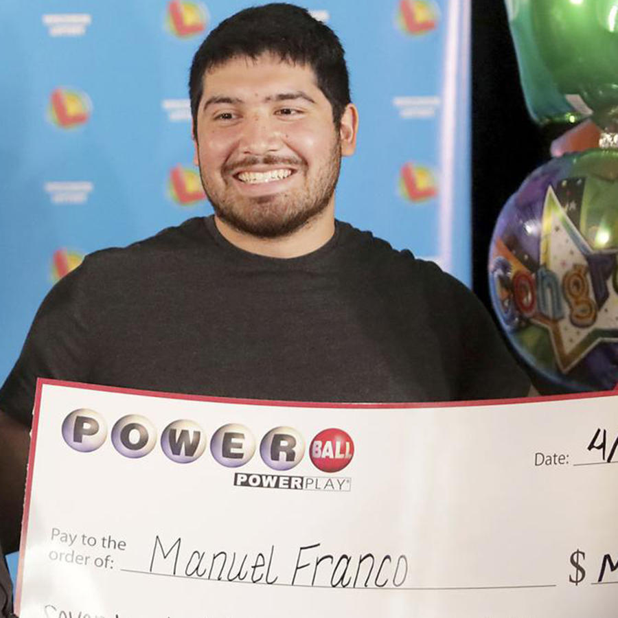 Manuel Franco de Wisconsin ganó el Powerball