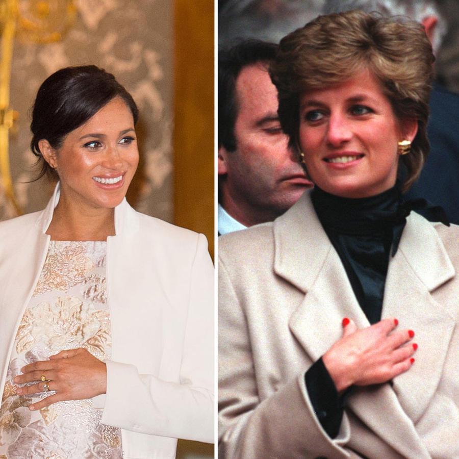 Duques de Sussex y Lady Di
