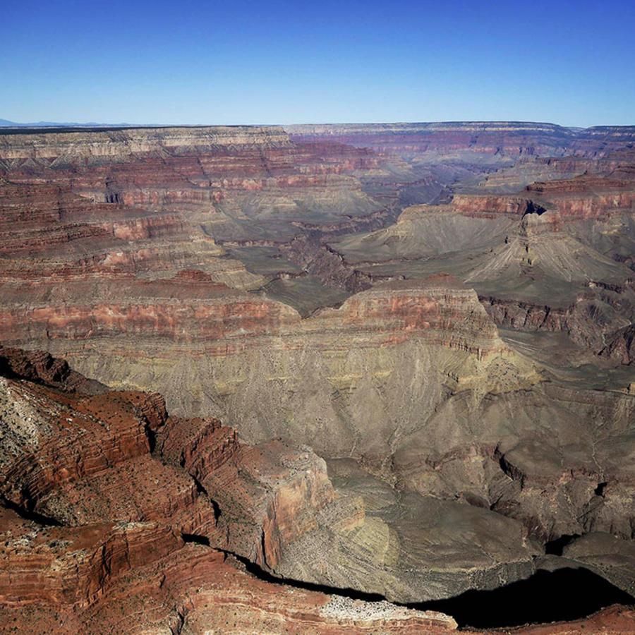 Imagen del Parque Nacional del Gran Cañón en una de las zonas cerca a Tusayan, en Arizona.