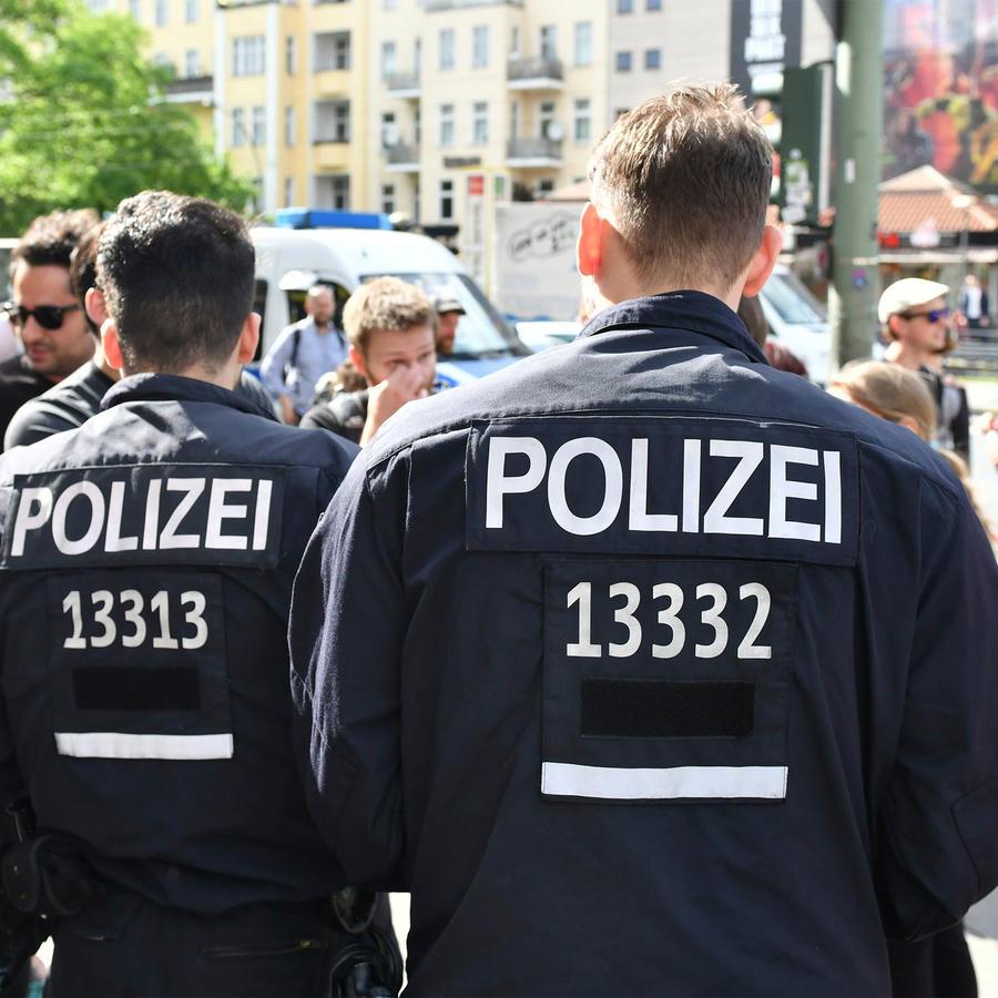 Policía en Alemania