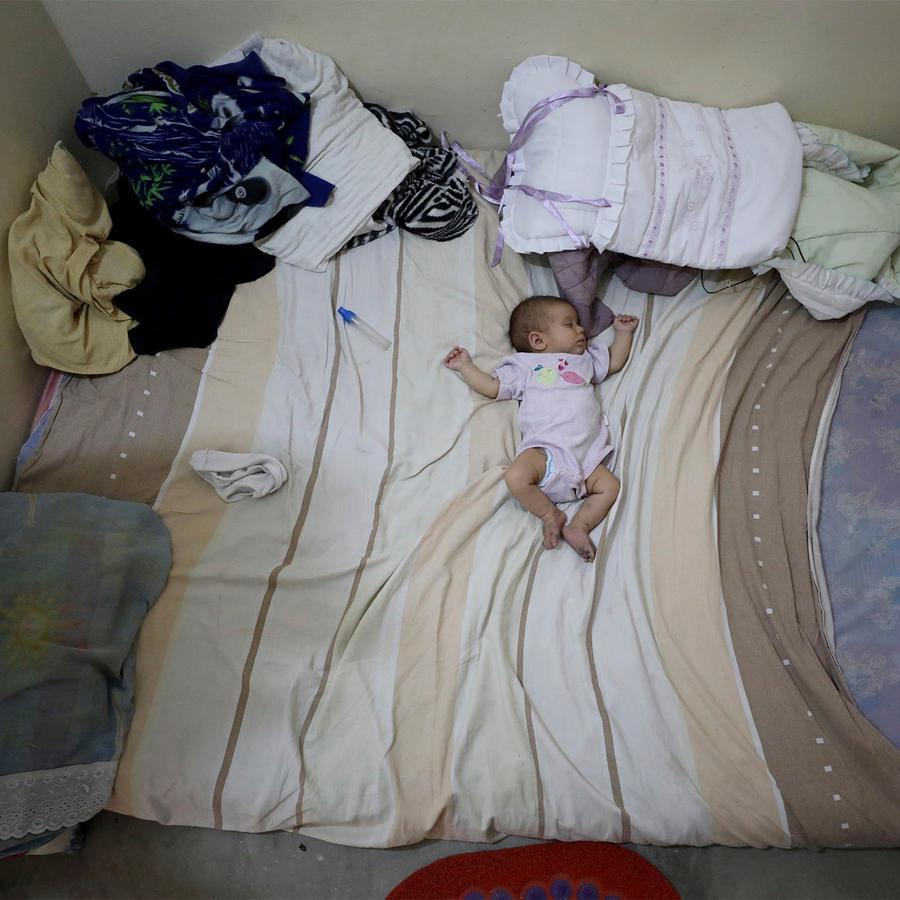 Bebé venezolana