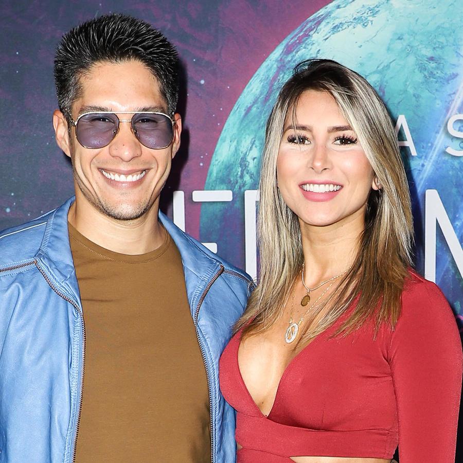 Chyno Miranda y Natasha Araos acuden al estreno en Miami de Cirque du Soleil
