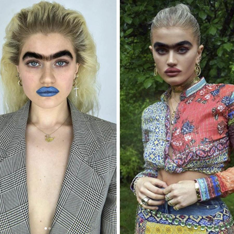 Ella es Sophía Hadjipanteli, la modelo uniceja