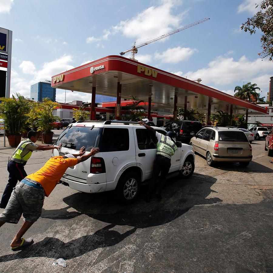 Bomba de Gasolina en Venezuela