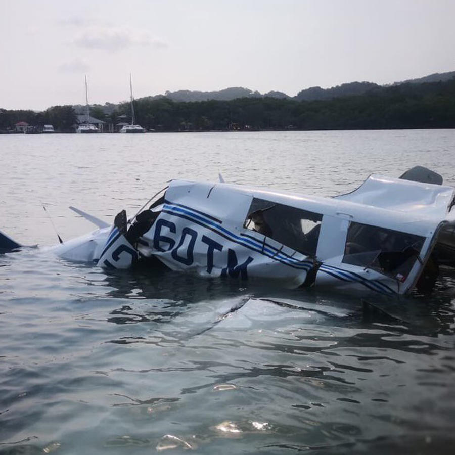 Avioneta accidentada en Honduras hoy