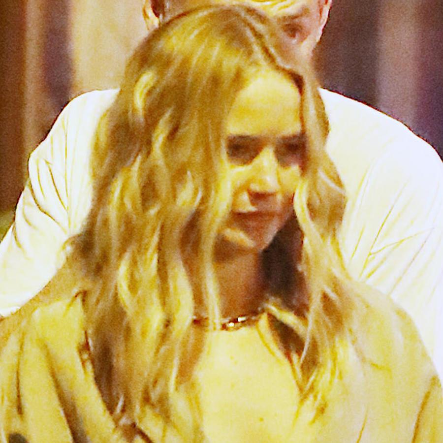 Jennifer Lawrence mostrando un escotazo en mayo de 2019