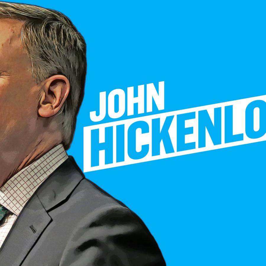 Precandidato demócrata a la presidencia de EEUU 2020 John Hickenlooper