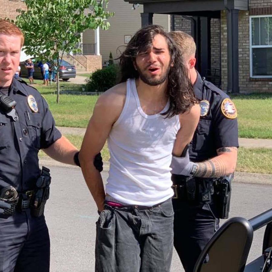 Matthew Casto fue arrestado por la policía de Mt. Juliet, Tennessee