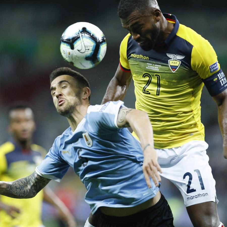 Copa América, Uruguay Ecuador