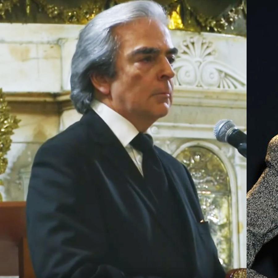Lorenzo Lazo y Edith González