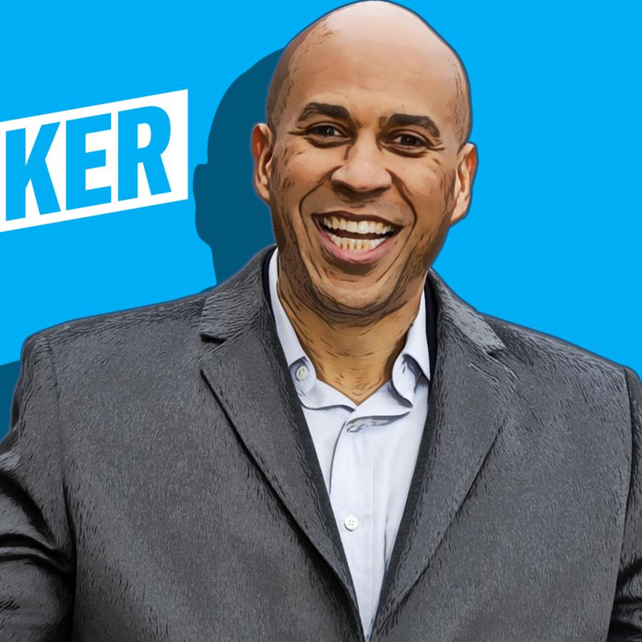 Cory Booker, aspirante demócrata a la presidencia.