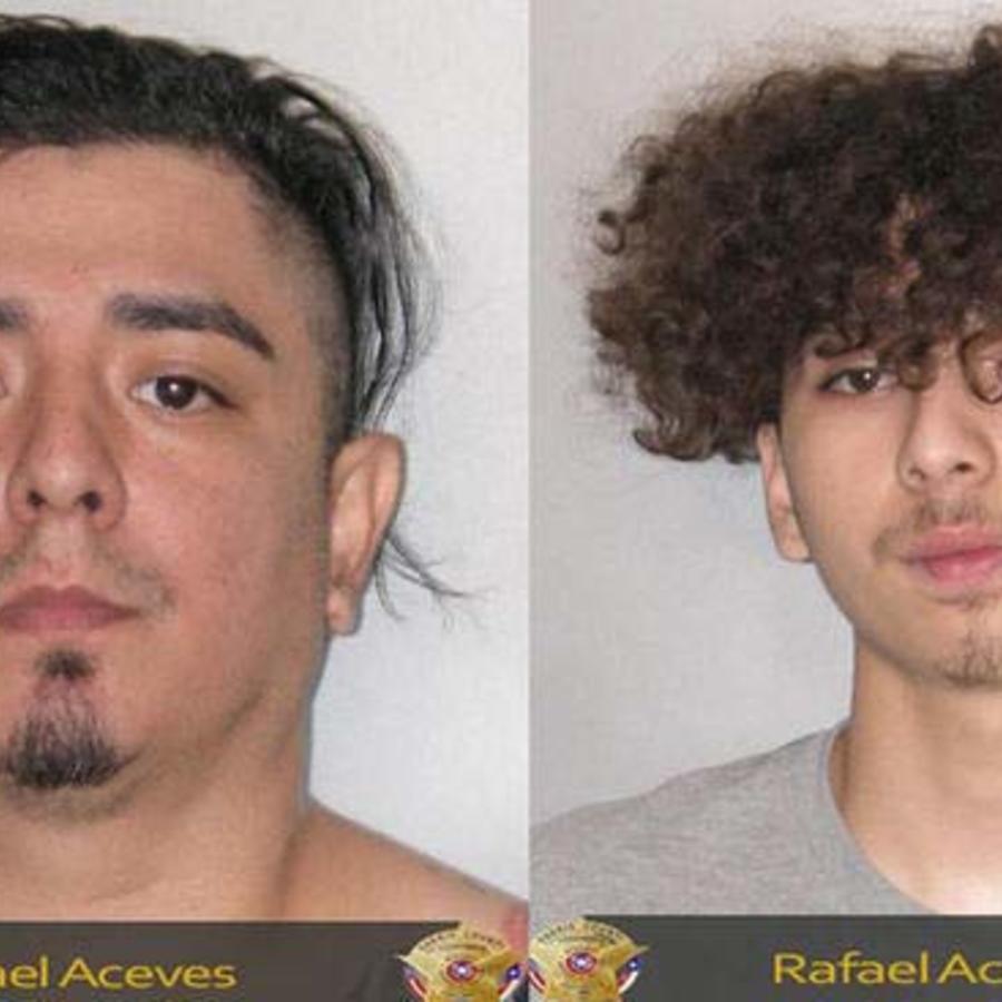 Rafael Aceves y su hijo Rafael Jr. acusados de estar en posesión de drogas en Houston