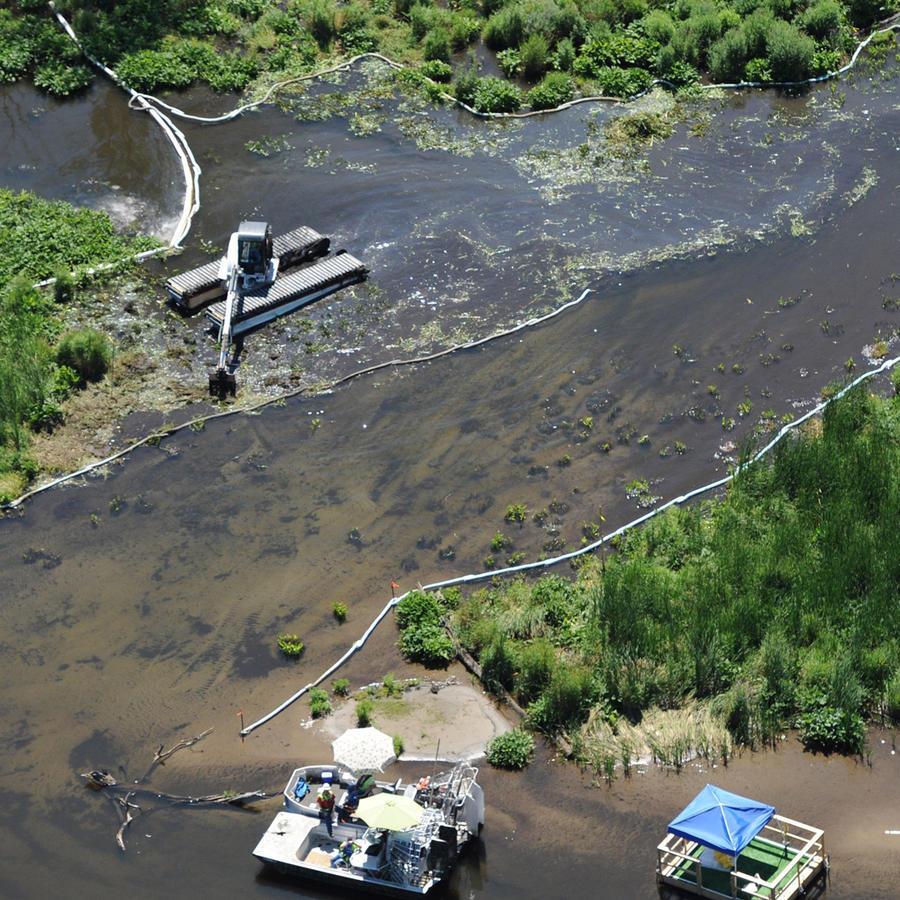 Río Kalamazoo en una imagen de archivo