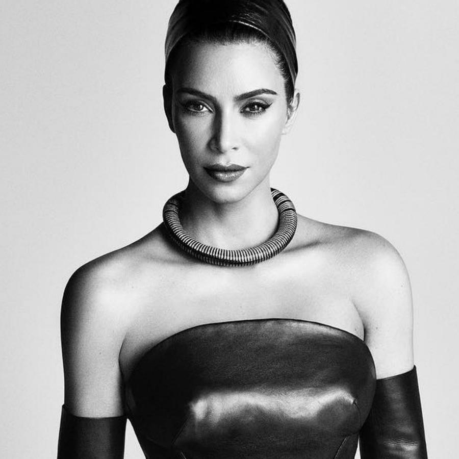 Kim Kardashian en Vogue Japón, edición agosto 2019