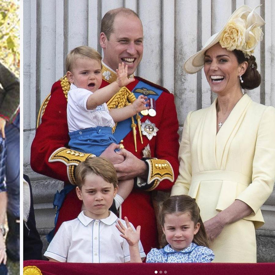 Príncipe William y su familia